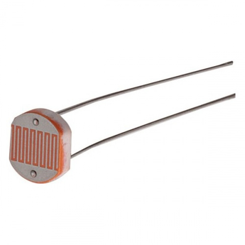 Pack of 2 Photoresistors 5K to10K Ohm Light Dependent Resistor