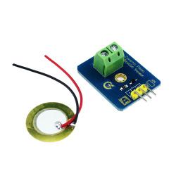 Arduino - Knock vibration sensor using a piezo