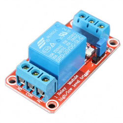 5V 1 Channel Level Trigger Optocoupler Relay Module (2A6 single relay red board)